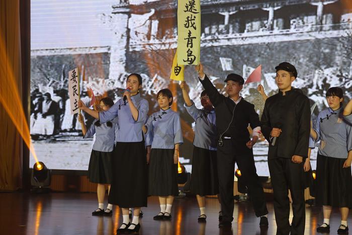 """梁溪区教育系统如火如荼开展""""礼赞新中国"""