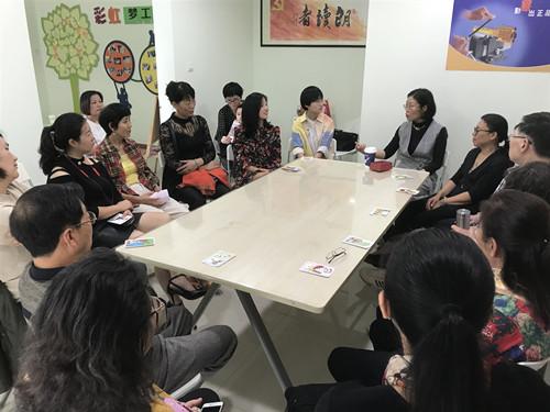 通江街道金河湾社区开展亲子沟通沙龙活动