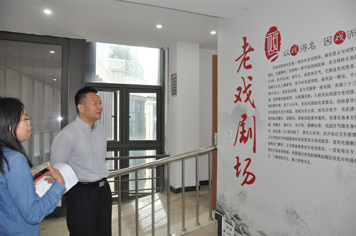 梁溪区委常委、统战部部长李涛赴通江街道开