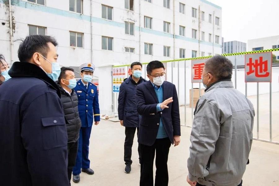 梁溪区委书记秦咏薪带队开展冬季安全生产检