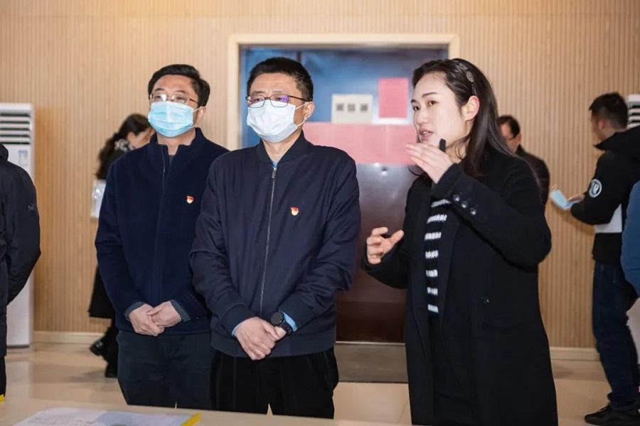 梁溪区委书记秦咏薪检查指导广益街道金和社