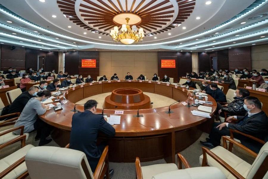 梁溪区召开一届区委常委会第152次(扩大)会议